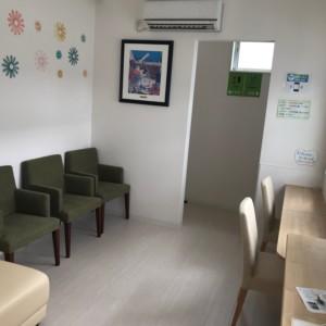 藤田歯科医院の待合室