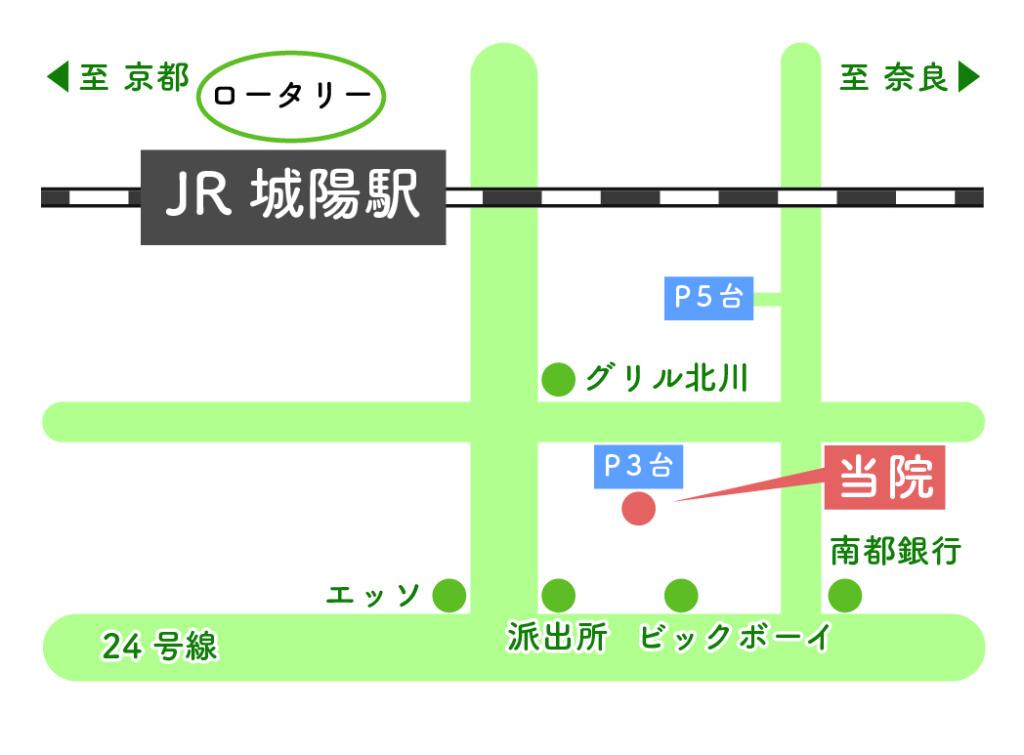 藤田歯科医院の地図